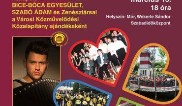 Bice-Bóca Egyesület 30 Éves Jubileumi Jótékonysági Est és Koncert