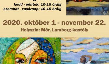 Ágh Gyula Mihály festménykiállítása a Lamberg-kastélyban